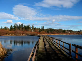 Swan Lake bridge - Tourism Victoria