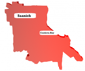 East Saanich - Cordova Bay - living in Victoria