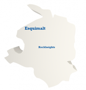 Esquimalt - Rockheights Map