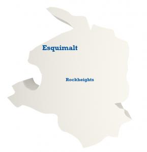 Esquimalt - Rockheights Map