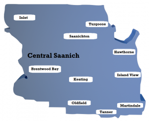 Central Saanich Neighbourhoods Map