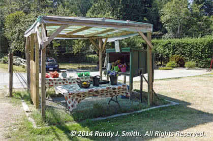 Metchosin BC Happy Valley Produce Stand