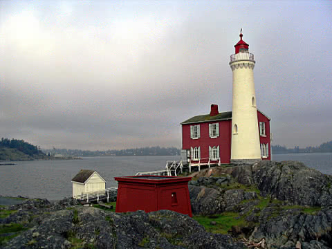 Fisgard Lighthouse at Macaulay Point