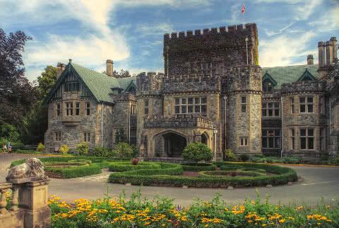 Hatley Castle at Royal Roads University