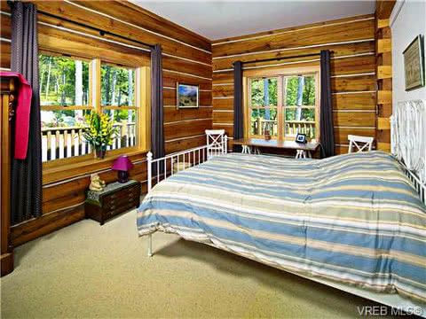 East Sooke Log Home
