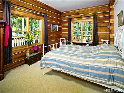 East Sooke Log Home