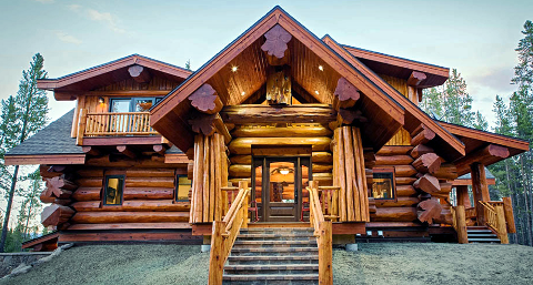 Log homes in victoria bc for Log cabins victoria