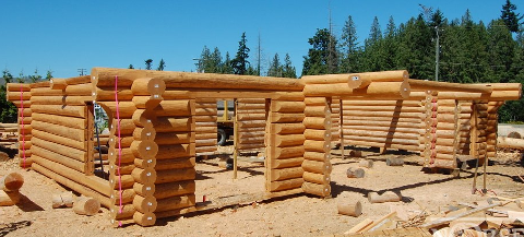custom-log-home-building